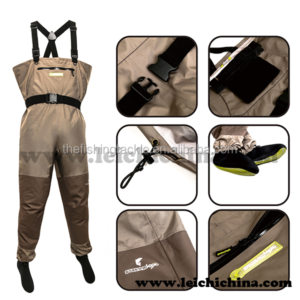 4mm resistant neoprene fly fishing fish hunting wader