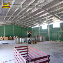 Bonded generator warehouse structure