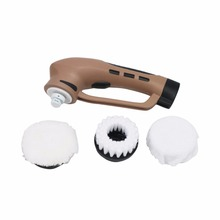 Portable Handheld Electric Shoe Polisher with Rechargeable Battery for Leather Bag