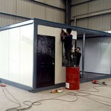 Hot Selling Most Economical New Design prefabricated light steel frame house