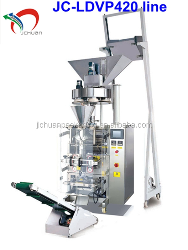 Fully automatic rice packing machine JC-LDVP420
