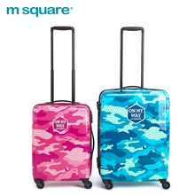 Guangzhou Sky Color Travel Trolley Luggage Bag With Universal Wheel