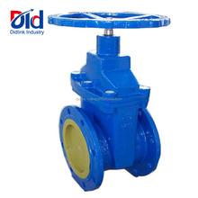 Cast Iron DIN 2 Flange Soft Seal Hand Wheel Ductile Iron Stem GGG50 Gate Valve With Prices