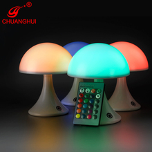 ABS rechargeable battery colorful night light for kids