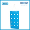 Multipurpose corrugated wall mounted rack paper hanging display