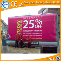 Outdoor billboard advertising equipment, advertising discount billboard inflatable