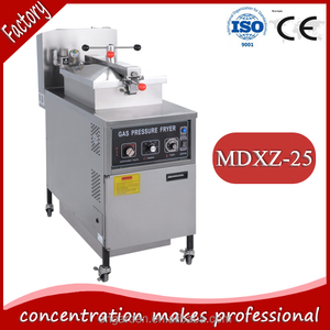 MDXZ-25 gas pressure fryer/deep chicken fryer/pressure cooker
