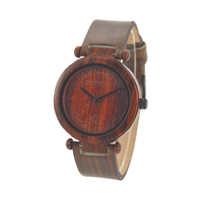 Wholesale Fashion Bamboo Watch Men Custom Logo We Wood Wrist Watch Cheap Handmade Leather Strap And 2017 Women Wooden Watches