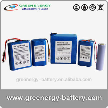 18650 series 3.7v cylinder lithium ion battery 2000-17600Ah