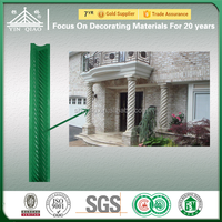 Fiberglass Reinforced Plastic Sublimated Gypsum Roman Column Molds