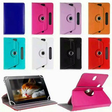 wholesale leather universal 7 inch tablet case with 360 degree rotation, universal android tablet case