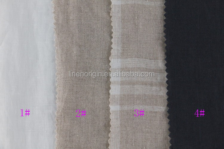 100% washed linen yarn dyed fabric france,pure linen fabric wholesale