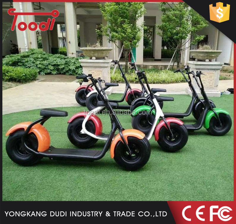 Mini e-scooter city coco disk brake city scooter mini smart scrooser shock fork front and rear