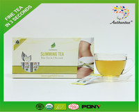 Chinese organic slimming green tea china organic slimming tea