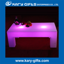 Elegant light up Led Coffee Table tea Table bar furniture