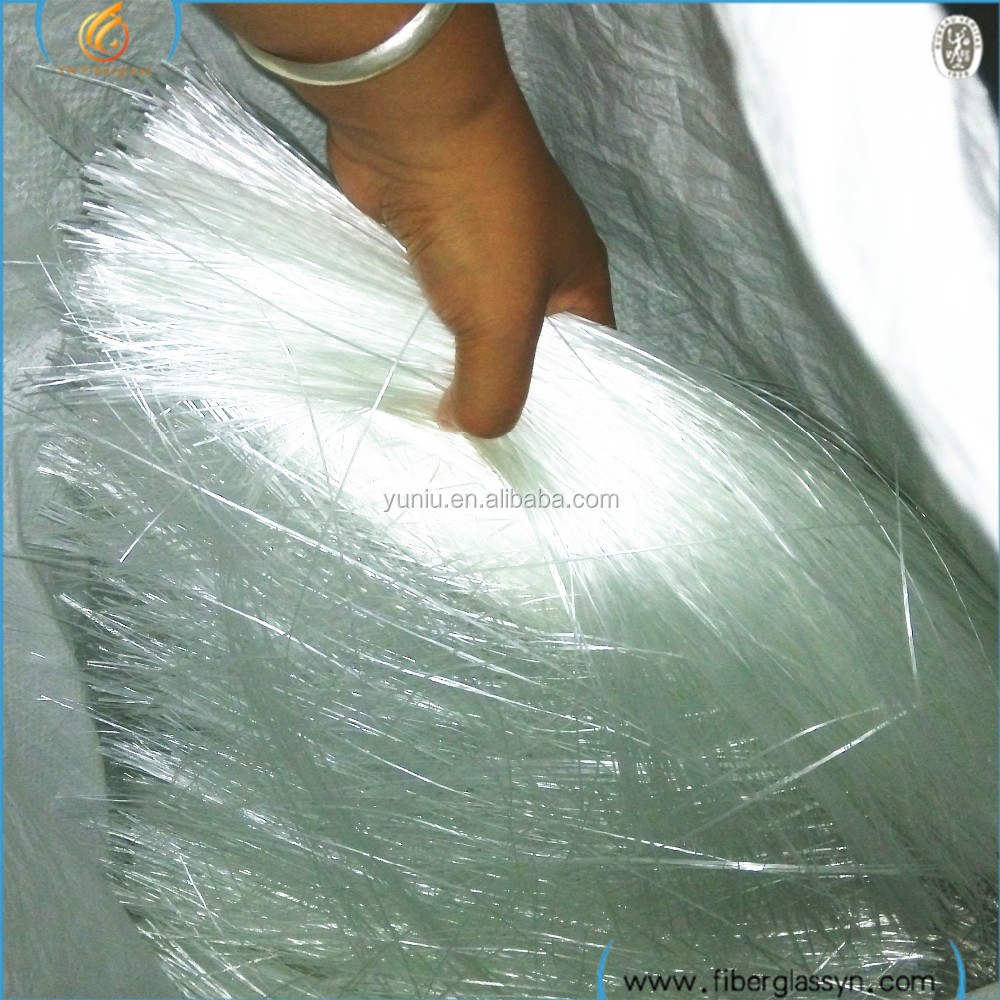 B grade Glass fibra Roving/ Fiberglass Waste Roving Cut for Gypsum production