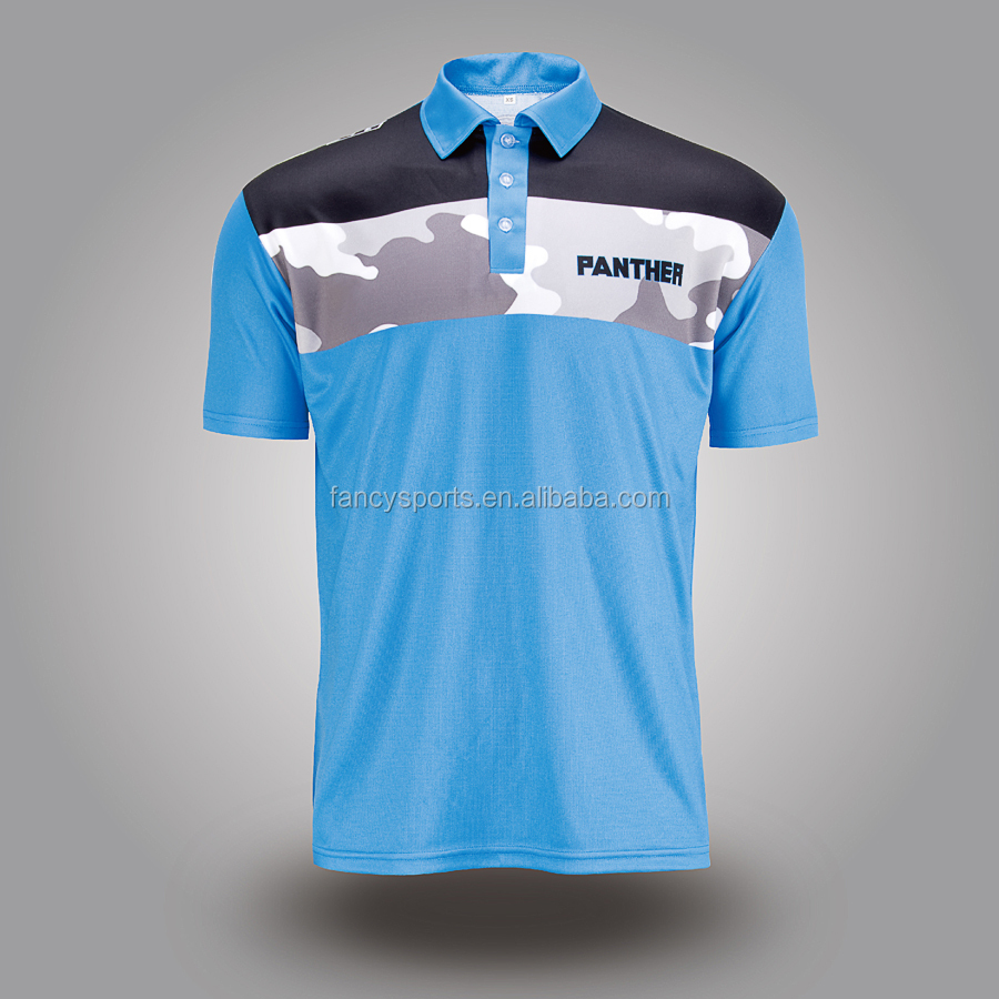 sublimated club polo shirt