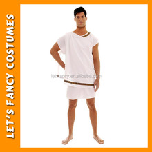 PGMC0876 White greek fancy dress man costume