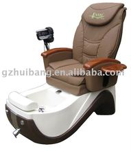good quality beauty salon pedicure foot spa massage chair with fiber base