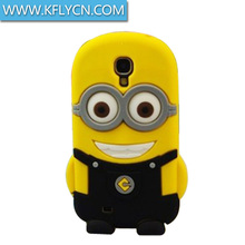 Animal Shaped Colorful Silicone Cell Phone Case For zte n9520