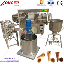 Factory Supply Commercial Sugar Ice Cream Cone Making Machine