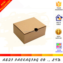 alibaba china custom recyclable fashion plain brown kraft paper shoe box