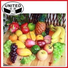 2015 hot selling lifelike Simulation Fruits and Vegetables for Teaching Children Family Decoration