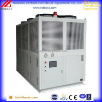 Single compresor series air cooled screw industrial water chillers price Double Compressors
