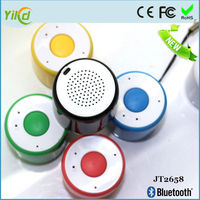 2016 new arrival portable mini bluetooth speaker with selfie function
