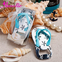 A80523 Wholesale 2014 Wedding Flip Flop Cheap Bottle Opener Favor