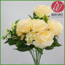 Quality new arrival rose artificial flowers coral