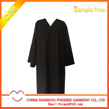 Hot Sale colloge Black Graduation Gown