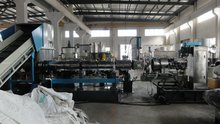 Plastic bag/film recycling and Granulation line