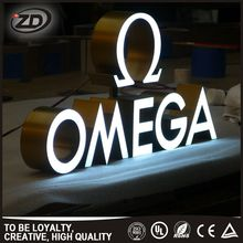 Brilliant Quality China Alibaba open sign led marquee letters acrylic 3d logo letter