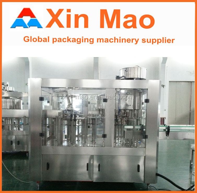 Automatic rotational bottled water filling machine plastic water bag filling sealing machine
