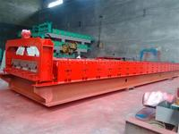 Metal Color Steel Step Roof Tile used eps sandwich panel production line