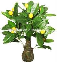fake lemon fruits bonsai tree