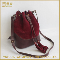 wholesale fashion ladies suede leather bags