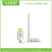 EDUP 802.11N 300Mbps WiFi wireless USB adapter With 2 DBI antenna for Laptop & Desktop