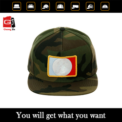 Fashion embroidered camo cayler sons snapback cotton peaked cap and hat wholeasale