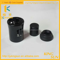 Wholesale Black Plastic Vials Screw Caps