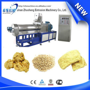 2015 Hot selling custom china vegetarian soya meat/ snack food process line /extruder