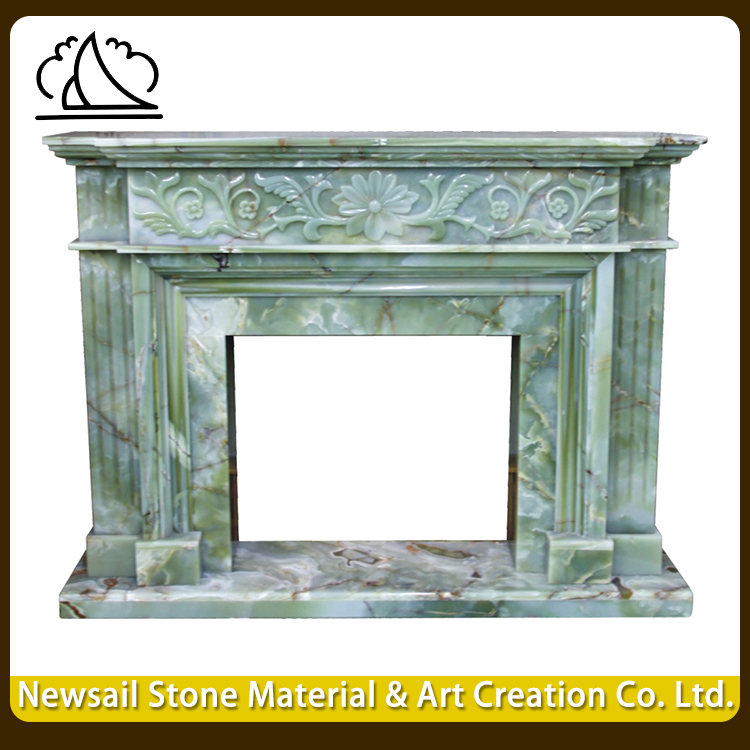 Most Beautiful Granite Fireplace Surround Stone Mantel For Home