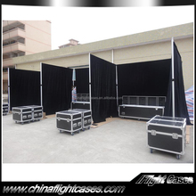 Outdoor pipe and drape style used trade show booth for exhibition/event/wedding