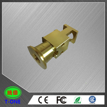 OEM manufacturing cnc machining brass smoking pipe parts