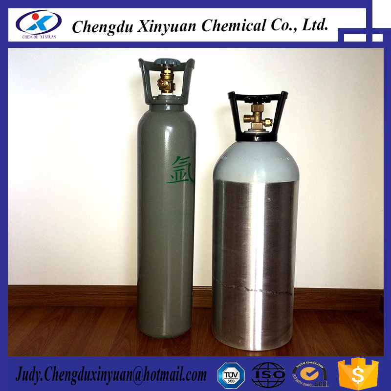 Aluminum Argon gas steel cylinder for sale
