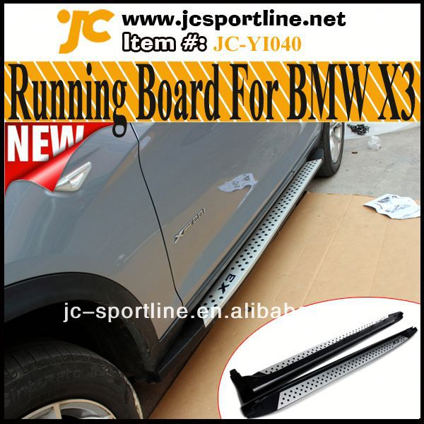X3 Side Running Board,Non-Slip Pedals For BMW X3 2013 Facelift