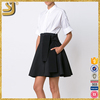 New products fashion one piece white and black formal office lady dress