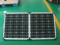 OEM 100w folding portable solar panel for home, camping and emergency in China