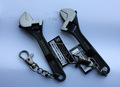 "Adjustable Wrenches 4"" with Chain black coating"